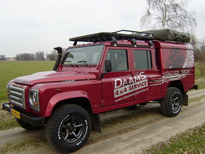 Tembo 4x4 Roofrack Voor Defender 130 Tembo 4x4 Quality 4x4 Equipment Made In Holland