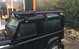 Tembo 4x4 roof rack Land Rover Defender 90_
