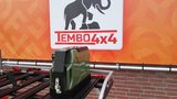Tembo 4x4 single jerry can holder black_
