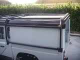 Full external Def 130 with Tembo 4x4 Hardtop With internal B Hoop_