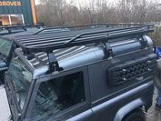 Tembo 4x4 roof rack Land Rover Defender 90