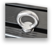 Eye Bolt For Tembo Roofrack incl square nut M8