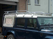 Defender 110 Double Cab 2.8m + 2 rear ladders