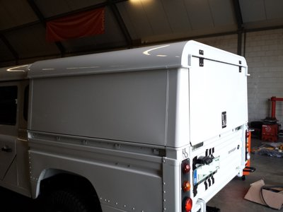 Tembo 4x4 Hardtop LR130 one rear door upwards (no windows)