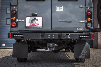 Tembo 4x4 rear bumper for Land Rover Defender 130