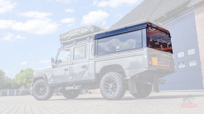 Tembo 4x4 hardtop 130 3x upward rear-side doors / no windows