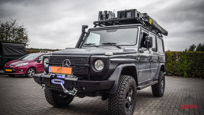 Tembo 4x4 winchbumper for Mercedes G Class